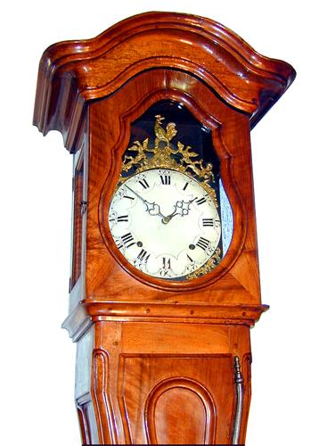 A Fine 18th Century French Louis XVI Walnut Regulateur No. 1544