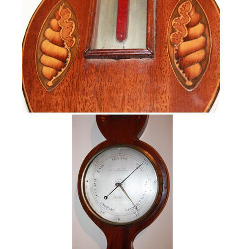 A Fine 19th Century English Regency Barometer No. 3488