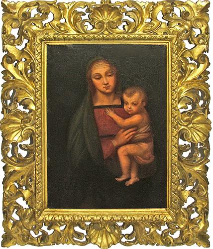 A Remarkable Unsigned 18th Century Granduca Madonna No. 2823