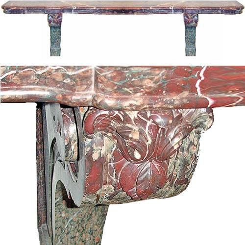 A Monumental 19th Century Italian Marble Console No. 2848