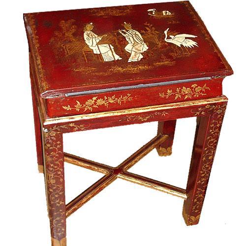 A Diminutive 19th Century English Lacquered Lap Desk No. 2903