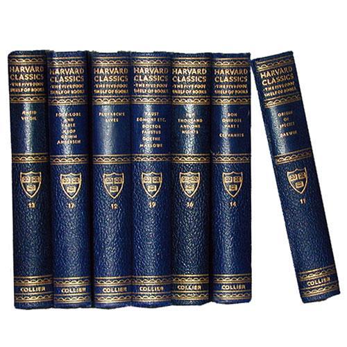 Seven Volumes of Harvard Classics No. 2173