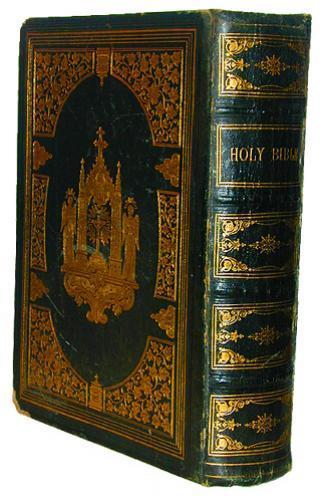 19th Century Holy Bible No. 2253