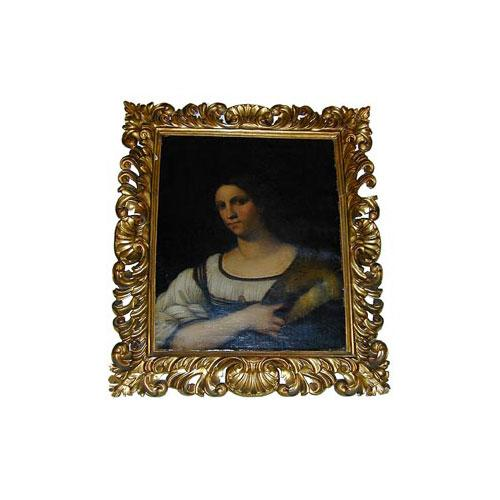 An 18th Century Portrait of an Italian Country Woman No. 1826
