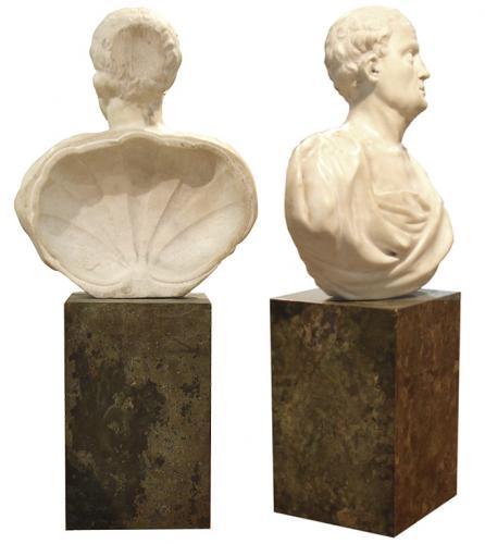 An 18th Century Sculpture Bust of a Roman Senator No. 3206