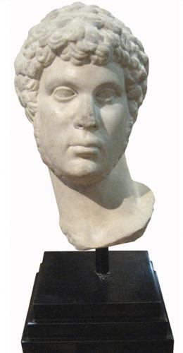 A Highly Important Ancient Marble Head of Apollo No. 3207