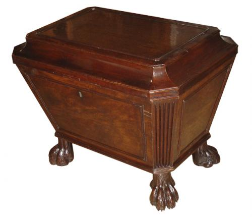 An Early 19th Century Regency Mahogany Wine Cooler No. 3299