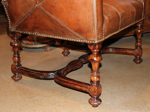 A 17th Century Italian Walnut Ratchet Chair No. 1930