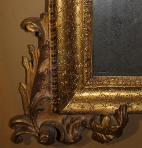 An 18th Century Florentine Giltwood Pier Mirror No. 3562
