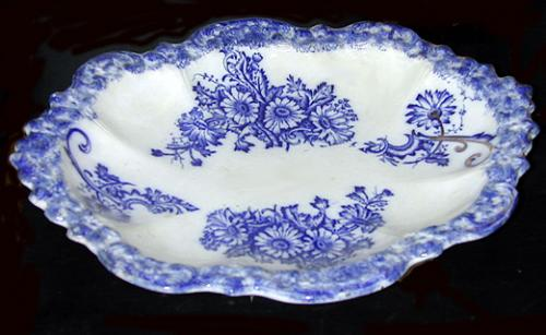 A White Porcelain Serving Dish No. 1170