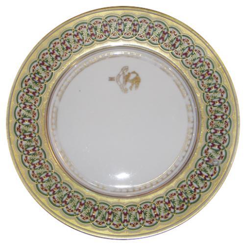 Set of Ten 19th Century Dinner Plates No. 3841