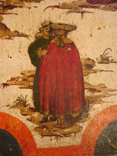 An 18th Century Tuscan Lacca Povera Credenza No. 3849