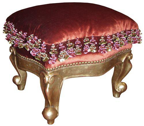 A 19th Century Italian Giltwood Tabouret No. 3787