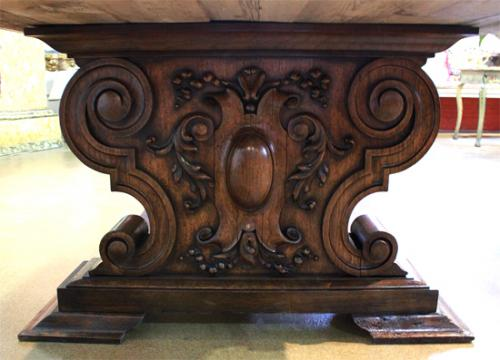 A Massive 17th Century Italian Ashwood Refectory Table No. 4045