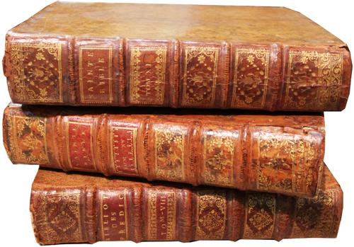 A Set of Fourteen 18th Century Leather Bound Books 4281
