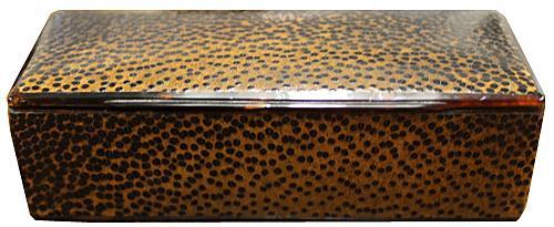 A 19th Century Palmwood Snuff Box No. 4227