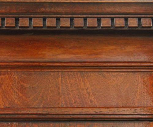 An 18th Century English Mahogany Linen Press No. 4291