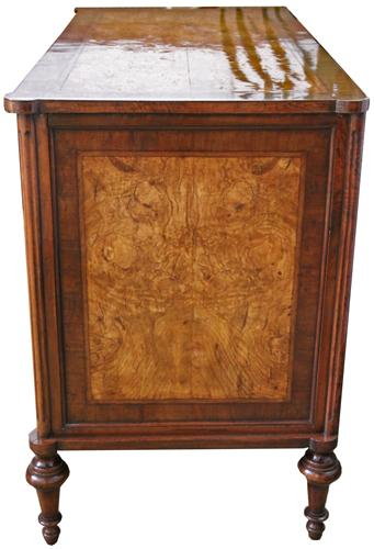 An 18th Century Louis XVI Olivewood and Walnut Chest of Drawers No. 4317