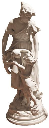 A 19th Century Italian Marble Sculpture No. 4352