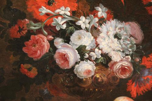An 18th Century Dutch Oil on Canvas Floral Still Life No. 4404