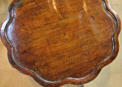A Set of Four 19th Century Italian Walnut Side Tables No. 4411