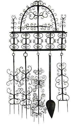 A Set of 17th Century Wrought Iron Fireplace Cooking Tools No. 1906
