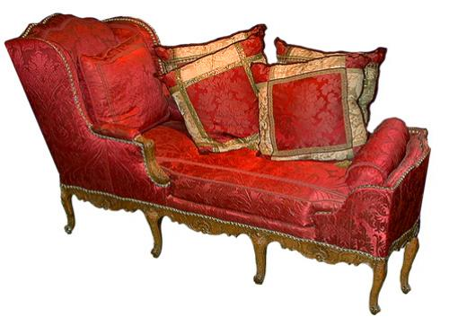 An Exceptional 18th Century Régence Beechwood Duchesse Day Bed No. 75