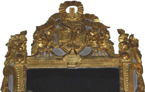 An 18th Century French Louis XVI Giltwood Mirror No. 280