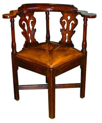 An 18th Century English Corner Chair No. 2078