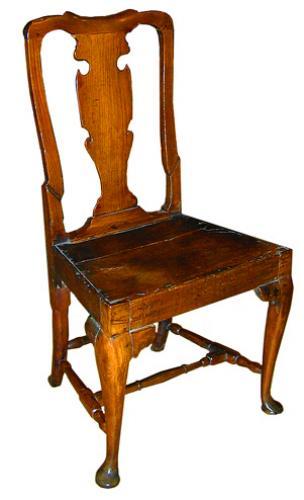 An 18th Century English Ashwood Chair No. 1976