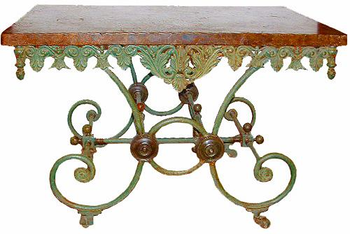 A Fine Late 18th Century French Bakers Table No. 2560