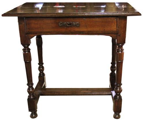 An 18th Century Italian Ash Wood Side Table No. 1902