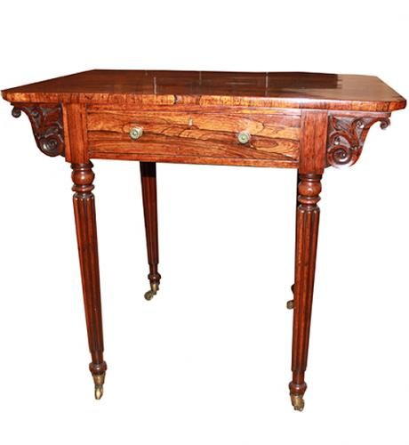 A Fine 19th Century Regency Rosewood Side Table No. 1643