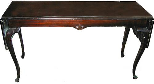 A 19th Century English Sofa Back Table No. 1557