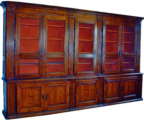 An 18th Century French Oak, Ash, and Walnut Archival No. 1859