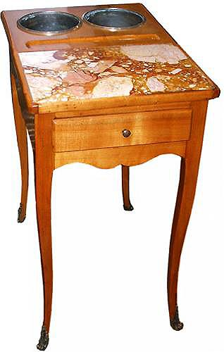 A 19th Century Louis XV Provençal Pearwood Rafraichissoir No. 2597