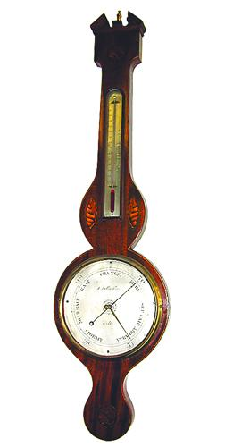 A Fine 19th Century English Regency Barometer No. 3488