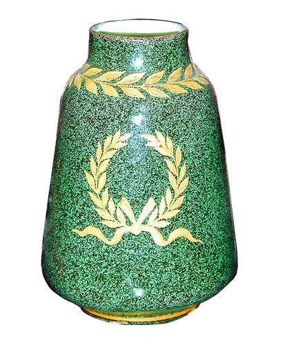 A 19th Century French Empire Porcelain Vase No. 1111