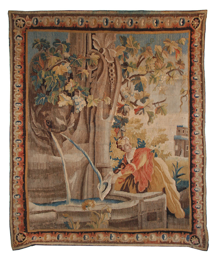 A Fine 18th Century Flemish Aubusson Tapestry No. 1686