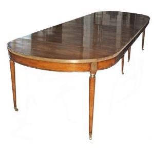 A 19th Century French Walnut Expanding Dining Table No. 2864