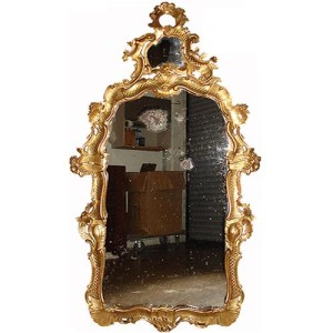 An 18th Century High Rococo Italian Giltwood Mirror No. 2997