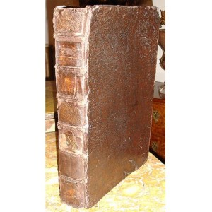 An Italian Leather Bound Book in Latin No. 2788