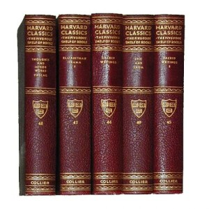 Five Volumes of Harvard Classics No. 2170