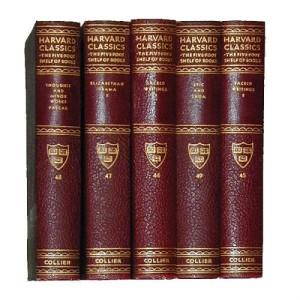 Five Volumes of Harvard Classics No. 2170