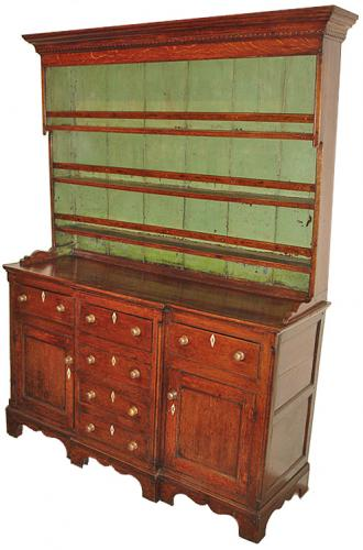 An 18th Century English Oak Sideboard Cabinet No. 3197