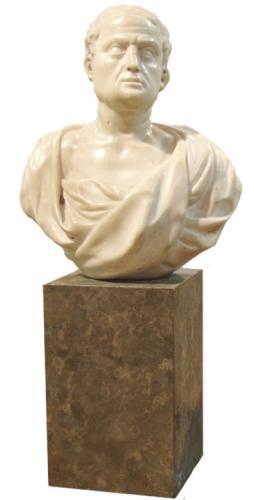 An 18th Century Sculpture Bust of a Roman Senator No. 3206