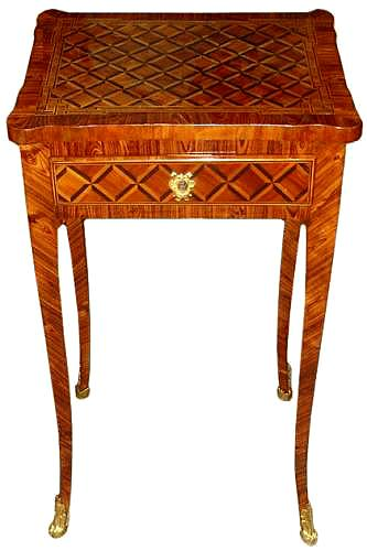 A French Louis XV Parquetry Side Table No. 3485