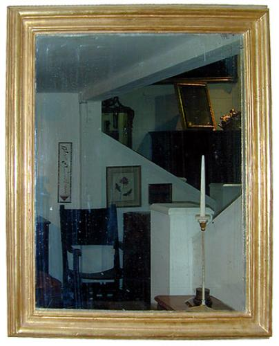 An 18th Century Italian Moulded Giltwood Mirror No. 851