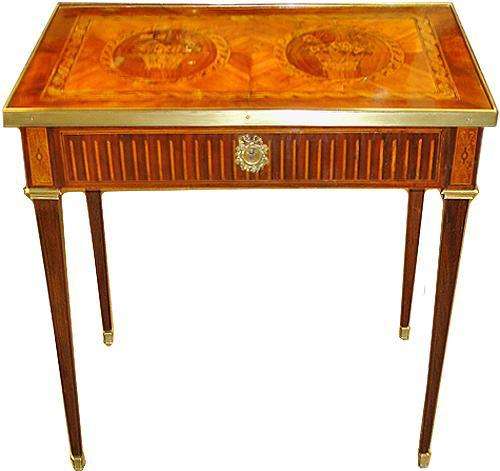 A 19th Century French Parquetry Side Table No. 3536