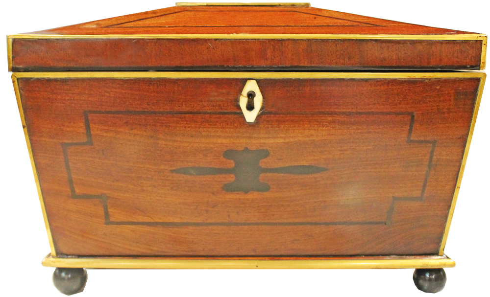 A Fine 19th Century Regency Jewelry Box No. 2674